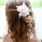 Photo coiffure fille mariage