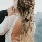 Coiffure mariage cheveux long 2021