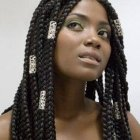 Photo tresse africaine rajout tresses