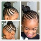Coiffure africaine pour fille