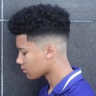 Afro style coiffure