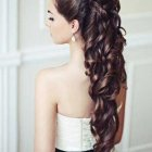 Coiffure mariage cheveux tres long