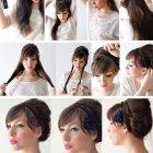 Coiffure cheveux long chic
