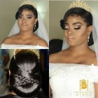 Coiffure mariage africain 2018
