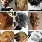 Different chignon