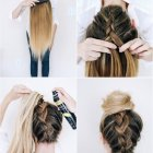 Tuto coiffure mariage cheveux long