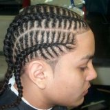 Coiffure tresse africaine homme